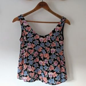 Vintage Crop Top by Peach Royal Large